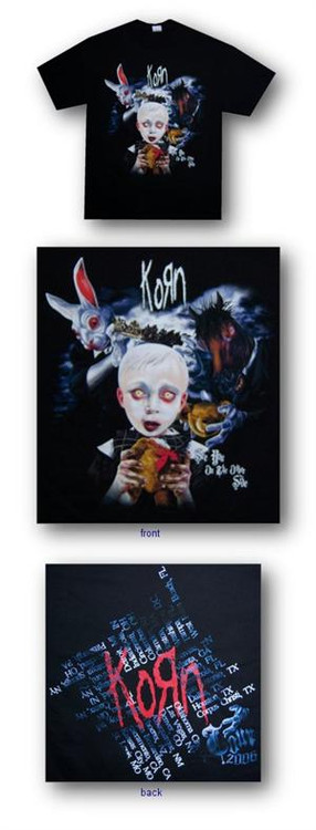 Korn The Other Side 06 Tour Mens Tee Shirt