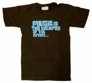 Music Is The Weapon of The Future Womens TShirt