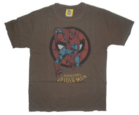 Junk Food Marvel Comics Spider Man Youth Tee Shirt