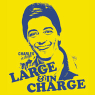 Charles in Charge Large and in Charge Womens T Shirt