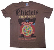 Mens Junk Food Tees Chicklets Tiny Size Tee Shirt