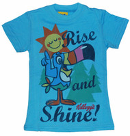 Junk Food Froot Loops Rise and Shine Girls Tee Shirt