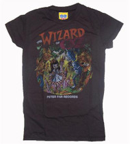 Junk Food Wizard of Oz Girls Tee Shirt in Black Wash
