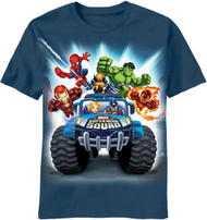 Super Hero Squad Get Out of My Way Boys Tee Shirt