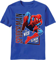 Spiderman Thwipitgood Boys Tee Shirt