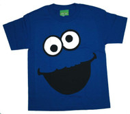 Cookie Monster Face Youth Tee Shirt