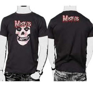 The Misfits Bloody Logo Mens Tee Shirt