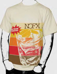 NOFX Stripes Mens Tee Shirt