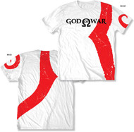 God of War Warrior Marks Mens Tee Shirt