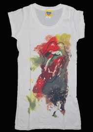 Rolling Stones Tunic Girls Tee Shirt by Junk Food Clothing