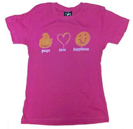 Peeps Love Happiness Womens TShirt