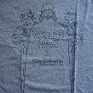 Mens Star Wars Vader Has a Posse Tee Shirt by Junk Food Clothing