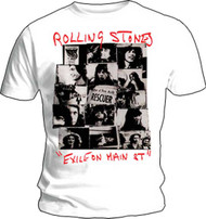 Rolling Stones Rescuer Collage Mens T Shirt