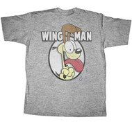 Garfield Odie Wingman Mens T-Shirt