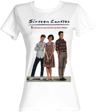Sixteen Candles Poster Womens Tee Shirt