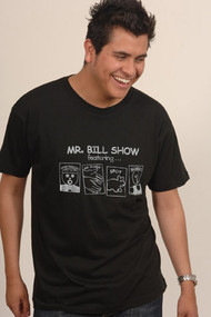 Mr Bill Show Vintage Style Mens Tee Shirt