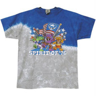 Grateful Dead Spirit of 76 Tie Dye Mens T Shirt