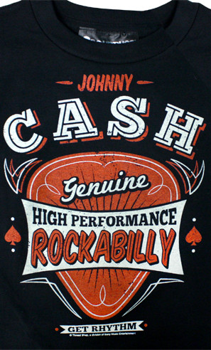 Johnny Cash Genuine Kids Tee Shirt