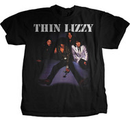 Thin Lizzy Group Photo Mens Tee Shirt