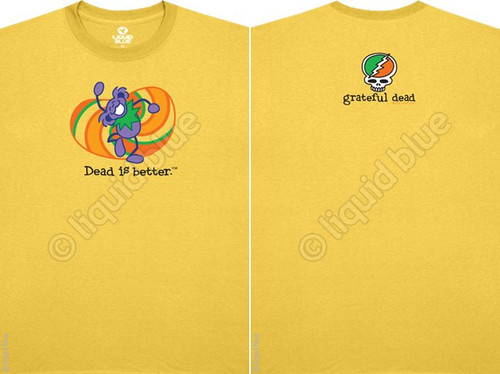 Grateful Dead Hippie Dead is Better Mens T Shirt