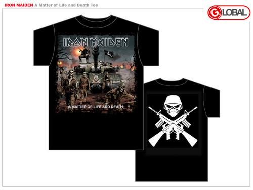 Iron Maiden Matter of Life and Death Mens Tee Shirt