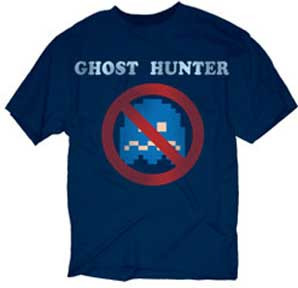 Pac Man Mens Ghost Hunter Tee Shirt