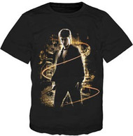 Harry Potter Glow Black Youth Tee Shirt