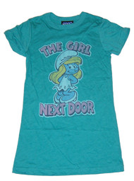 Smurfette The Girl Next Door Womens Tee Shirt by Junk Food Clothing