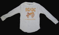 Rowdy Sprout AC/DC Long Sleeve Thermal Shirt (Infant / Toddler)