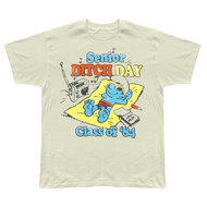 Mens Junk Food Smurfs 1984 Senior Ditch Day T Shirt