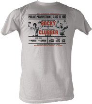 Rocky vs Clubber Philly Spectrum Mens Tee Shirt
