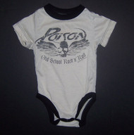 Rowdy Sprout Poison Old School Rock N Roll Infant Bodysuit