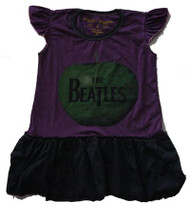 Rowdy Sprout The Beatles Apple Ruffle Dress (Infant / Toddler)