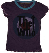 Rowdy Sprout The Who Girly Ruffle T-Shirt