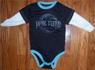 Rowdy Sprout Pink Floyd Vintage Style Snapsuit