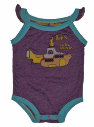 Rowdy Sprout The Beatles Yellow Submarine Purple Snapsuit