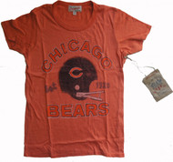 Junk Food NFL Chicago Bears Ladies Tee Shirt in Orange