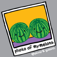 Photo of My Melons Vintage Style Womens Tee Shirt