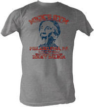 Rocky Micks Gym Heather Gray Mens Tee Shirt