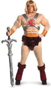 He-Man Masters of the Universe Adult Halloween Costume