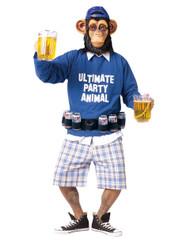 Mens Ultimate Party Animal Costume