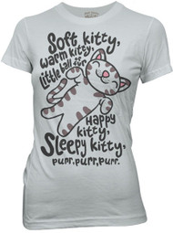 The Big Bang Theory Soft Kitty Womens Tee Shirt