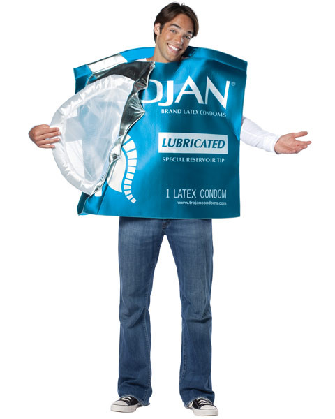 Trojan Open Wrapper Mens Costume