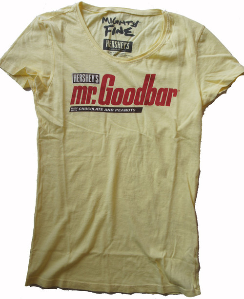 Mighty Fine Mr Goodbar Vintage Style Womens Tee Shirt