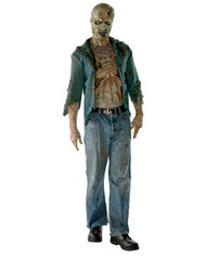 The Walking Dead Deluxe Decomposed Zombie Mens Costume