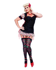 Sexy Pin Up Girl Adult Plus Size Marilyn Monroe Costume