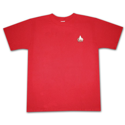 Star Trek The Next Generation Communicator Costume Red T Shirt