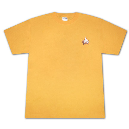 Star Trek The Next Generation Communicator Costume Yellow T Shirt