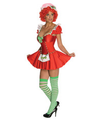 Womens Strawberry Shortcake Sexy Costume