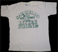 Mens Say Hello To My Little Friend T-Shirt by Junk Food Clothing